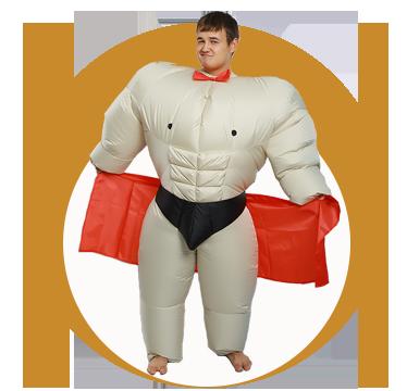 Купить надувные костюмы от производителя с доставкой по всей России 453fc2e2258ba